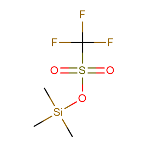 trimethylsilyl trifluoromethanesulfonate,CAS No. 27607-77-8.