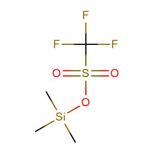 trimethylsilyl trifluoromethanesulfonate,CAS No. 27607-77-8.