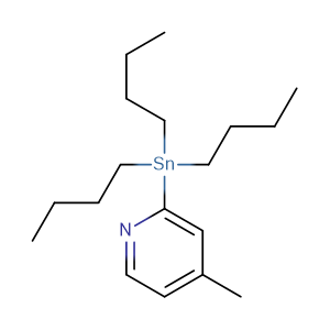 4-Methyl-2-(tributylstannanyl)pyridine,CAS No. 301652-23-3.