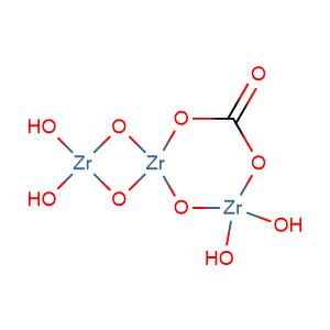 Zirconium carbonate oxide,CAS No. 12671-00-0.