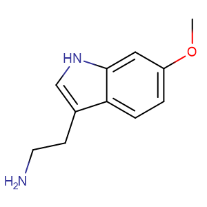 6-Methoxytryptamine,CAS No. 3610-36-4.