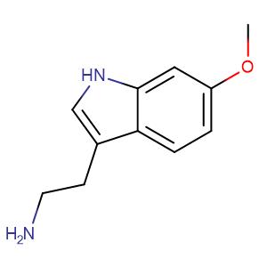 6-Methoxytryptamine,CAS No. 3610-36-4.