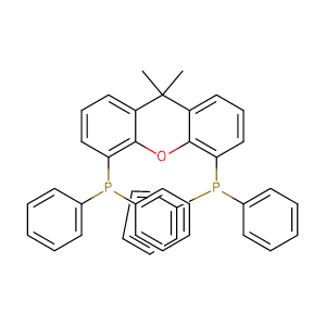 9,9-Dimethyl-4,5-bis(diphenylphosphino)xanthene,CAS No. 161265-03-8.