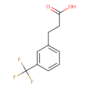 3-(3-(Trifluoromethyl)phenyl)propanoic acid,CAS No. 585-50-2.