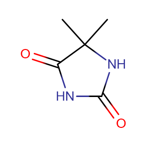 5,5-Dimethylimidazolidine-2,4-dione,CAS No. 77-71-4.