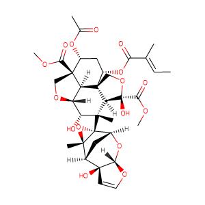 Azadirachtin,CAS No. 11141-17-6.