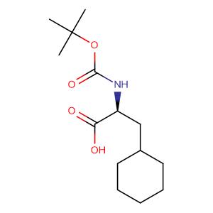 (S)-2-tert-Butoxycarbonylamino-3-cyclohexyl-propionic acid,CAS No. 37736-82-6.