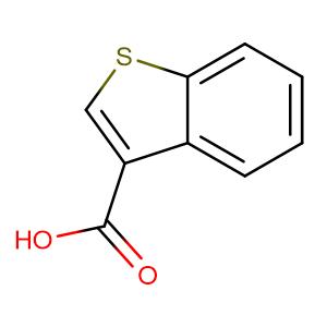 1-Benzothiophene-3-carboxylic acid,CAS No. 5381-25-9.