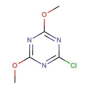 2 - Chloro - 4,6 - dimethoxy - 1,3,5 - triazine,CAS No. 3140-73-6.