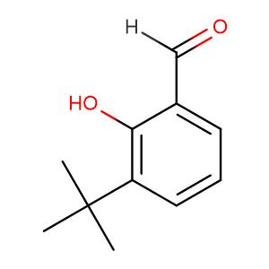 3 - tert - Butyl - 2 - hydroxybenzaldehyde,CAS No. 24623-65-2.