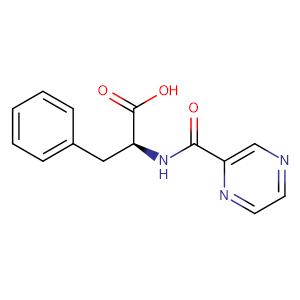 (S)-3-Phenyl-2-(pyrazine-2-carboxamido)propanoic acid,CAS No. 114457-94-2.