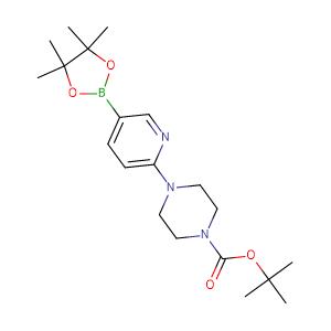 2 - (4 - Boc - piperazine)pyridine - 5 - boronic acid pinacol ester,CAS No. 496786-98-2.