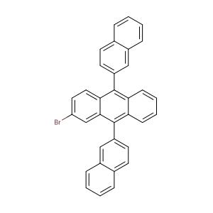 2-Bromo-9,10-bis(2-naphthalenyl)anthracene,CAS No. 474688-76-1.
