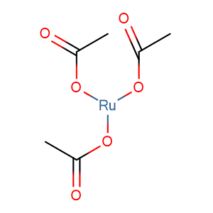 Ruthenium acetate,CAS No. 72196-32-8.