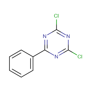 2,4-Dichloro-6-phenyl-1,3,5-triazine,CAS No. 1700-02-3.