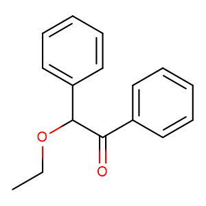 2-ethoxy-1,2-diphenyl-ethanone,CAS No. 574-09-4.