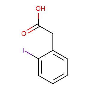 2-(2-Iodophenyl)acetic acid,CAS No. 18698-96-9.