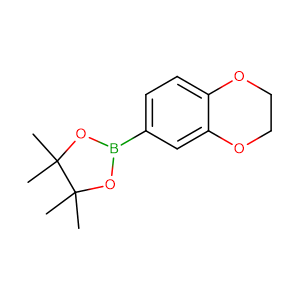 2-(2,3-Dihydrobenzo[b][1,4]dioxin-6-yl)-4,4,5,5-tetramethyl-1,3,2-dioxaborolane,CAS No. 517874-21-4.
