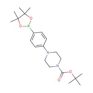 4 - (4 - Boc - piperazinyl)phenylboronic acid pinacol ester,CAS No. 470478-90-1.