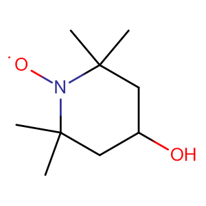 4-hydroxy-2,2,6,6-tetramethylpiperidine-N-oxyl,CAS No. 2226-96-2.