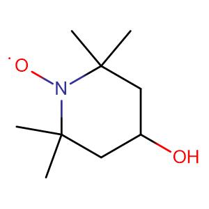 4-hydroxy-2,2,6,6-tetramethylpiperidine-N-oxyl,CAS No. 2226-96-2.