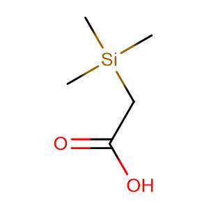 (Trimethylsilyl)acetic acid,CAS No. 2345-38-2.