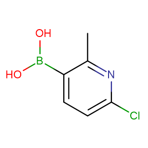 (6-Chloro-2-methylpyridin-3-yl)boronic acid,CAS No. 913836-15-4.
