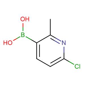 (6-Chloro-2-methylpyridin-3-yl)boronic acid,CAS No. 913836-15-4.