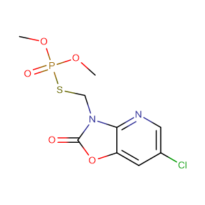 Azamethiphos,CAS No. 35575-96-3.