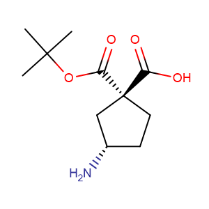 (1R,3S)-Boc-3-aminocyclopentane-1-carboxylic acid,CAS No. 161660-94-2.