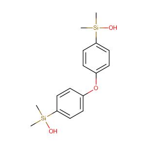 (Oxybis(4,1-phenylene))bis(dimethylsilanol),CAS No. 2096-54-0.