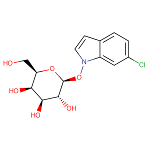 6-Chloro-3-indoxyl-beta-D-glucopyranoside,CAS No. 159954-28-6.