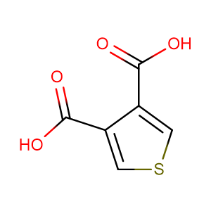 Thiophene-3,4-dicarboxylic acid,CAS No. 4282-29-5.