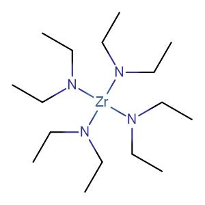 Tetrakis(diethylamino)zirconium,CAS No. 13801-49-5.