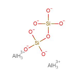 Silicic acid (H6Si2O7), aluminum salt (1:2),CAS No. 22708-90-3.