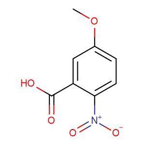 5-Methoxy-2-nitrobenzoic acid,CAS No. 1882-69-5.