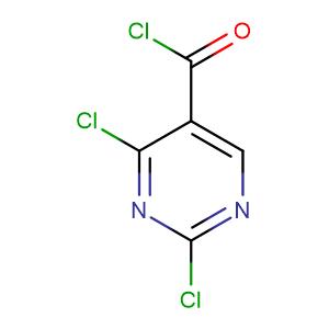 2,4-Dichloro-5-pyrimidinecarbonyl chloride,CAS No. 2972-52-3.