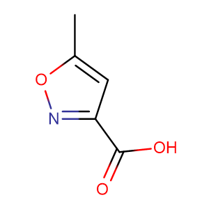 5-Methylisoxazole-3-carboxylic acid,CAS No. 3405-77-4.
