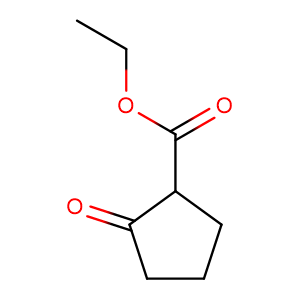 Ethyl 2-oxocyclopentanecarboxylate,CAS No. 611-10-9.