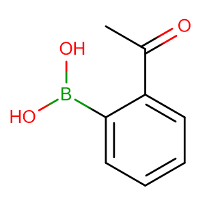 2-Acetylphenylboronic acid,CAS No. 308103-40-4.