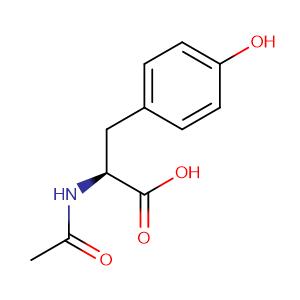 N-acetyl-L-tyrosine,CAS No. 537-55-3.