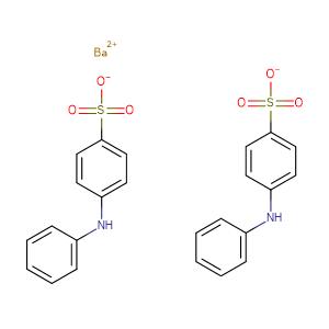 Benzenesulfonic acid, 4-(phenylamino)-, barium salt (2:1),CAS No. 6211-24-1.