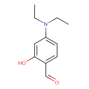 4-(Diethylamino)salicylaldehyde,CAS No. 17754-90-4.