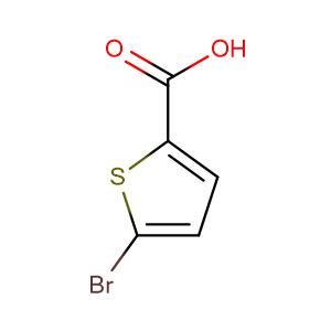 5-bromo-thiophene-2-carboxylic acid,CAS No. 7311-63-9.