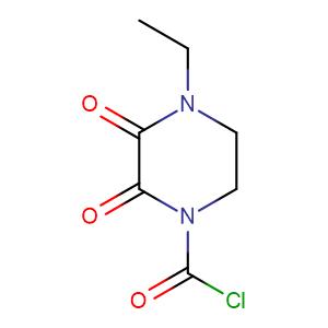 4-Ethyl-2,3-dioxo-1-piperazine carbonyl chloride,CAS No. 59703-00-3.