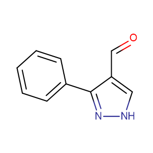 3-Phenyl-1H-pyrazole-4-carbaldehyde,CAS No. 26033-20-5.