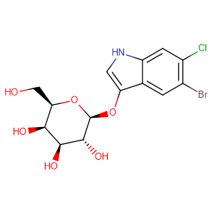 5-Bromo-6-chloro-3-indolyl-beta-D-galactoside,CAS No. 93863-88-8.