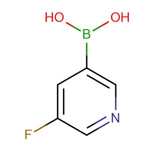 5-Fluoropyridine-3-boronic acid,CAS No. 872041-86-6.