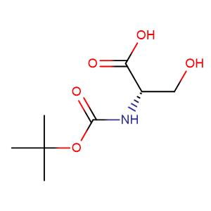 t-butyloxycarbonyl-L-serine,CAS No. 3262-72-4.