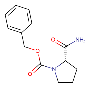Cbz-L-Prolinamide,CAS No. 34079-31-7.